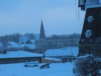 Blick vom Mühlenberg über die Stadt